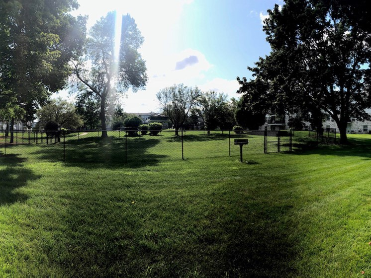 Apartments in Fitchburg, Wisconsin dog park