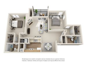 Cedarwood Floor Plan