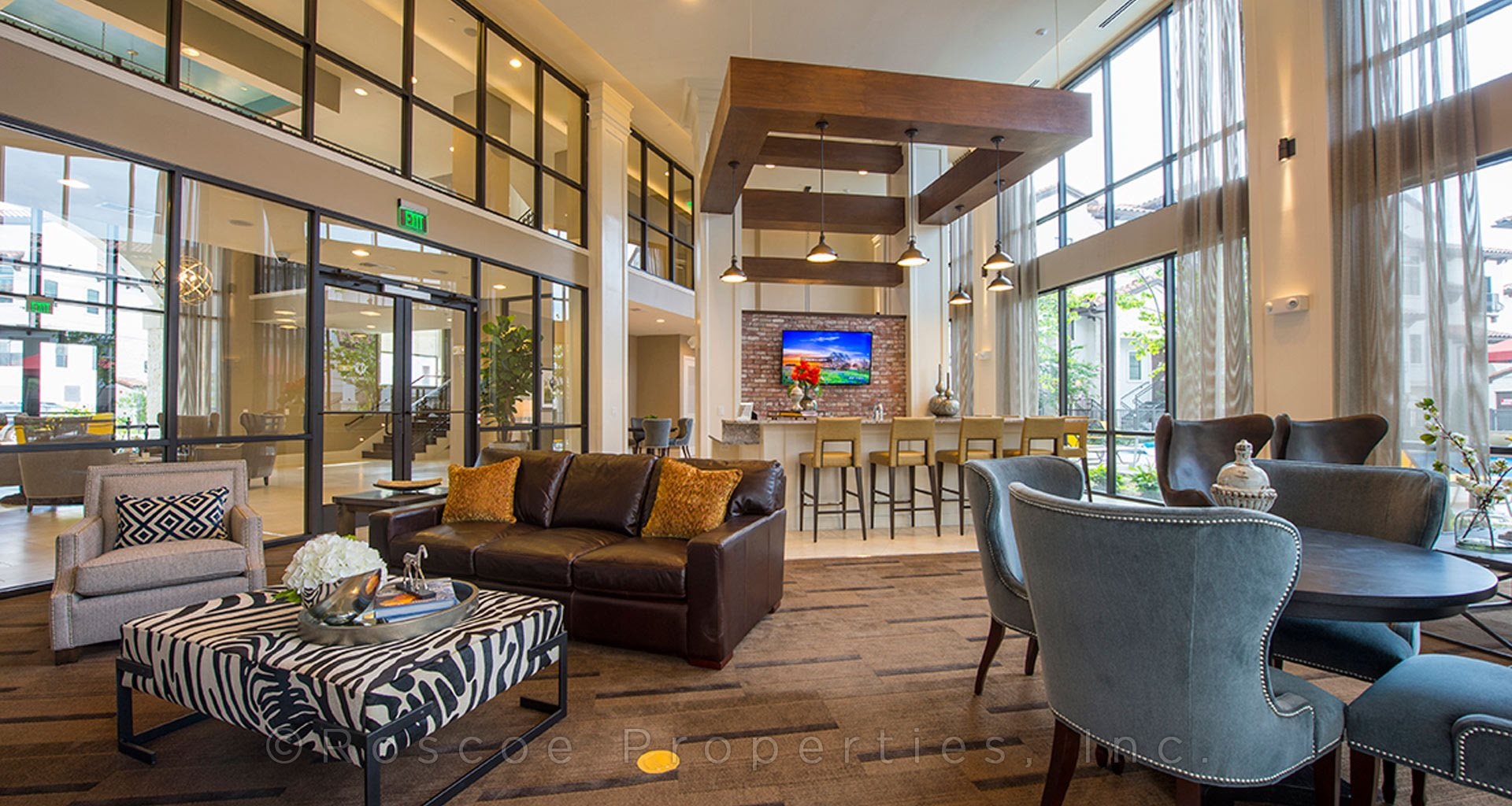 lobby-area-memorial-houston-townhomes