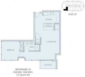 1 Bedroom A6