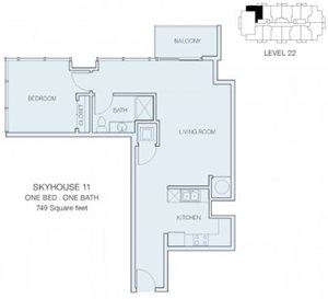 1 Bedroom A7