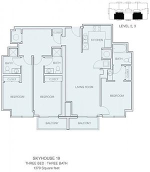 3 Bedroom C3