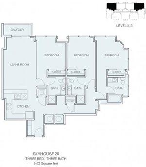 3 Bedroom C4