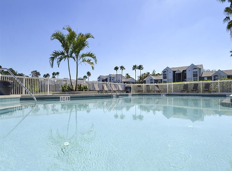 The Point at Naples Apartment Homes Naples, FL 34112 Large Pool with Aqua Deck