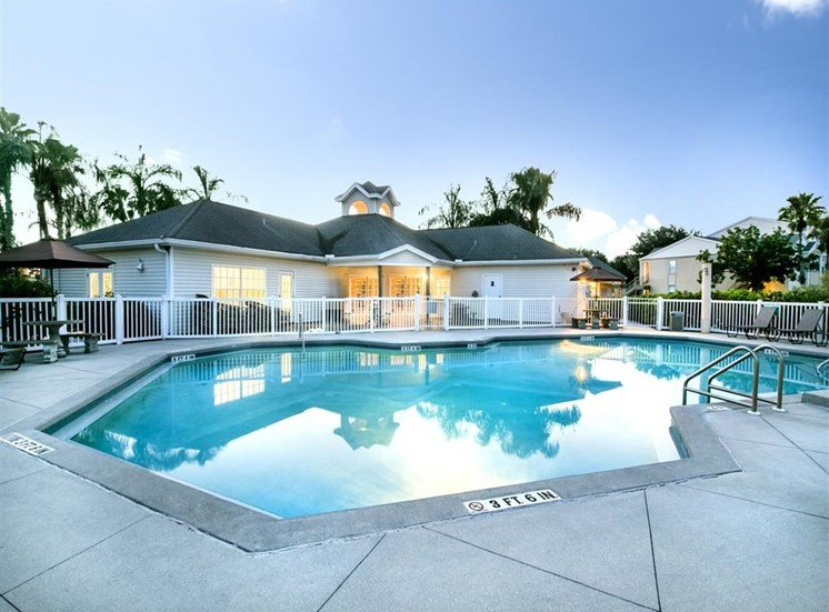 The Point at Naples Apartment Homes Naples, FL 34112 Refreshing Pool with Aqua Deck
