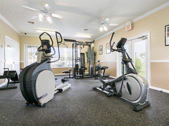 The Point at Naples Apartment Homes Naples, FL 34112 Fitness center with cardio equipment