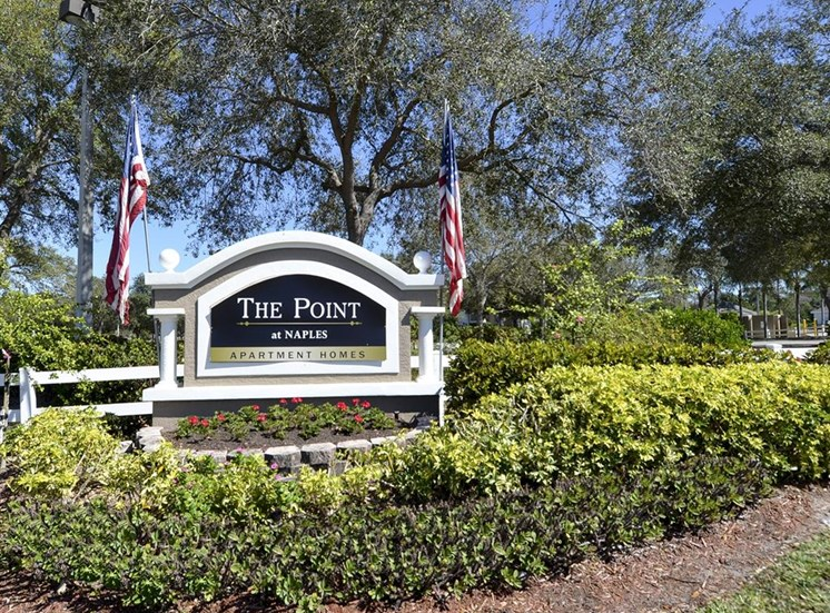 The Point at Naples Apartment Homes Naples, FL 34112 Welcoming Entrance Gate