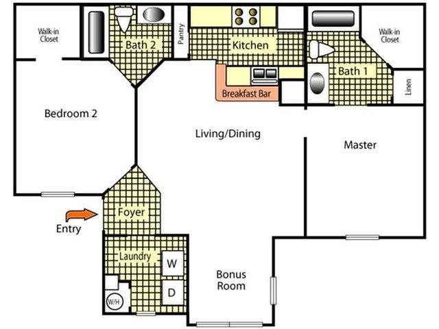 The Point at Naples Apartment Homes Naples, FL 34112 2 bedroom 2 bathroom