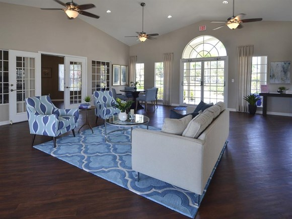 The Point at Naples Apartment Homes Naples, FL 34112 Friendly community clubhouse