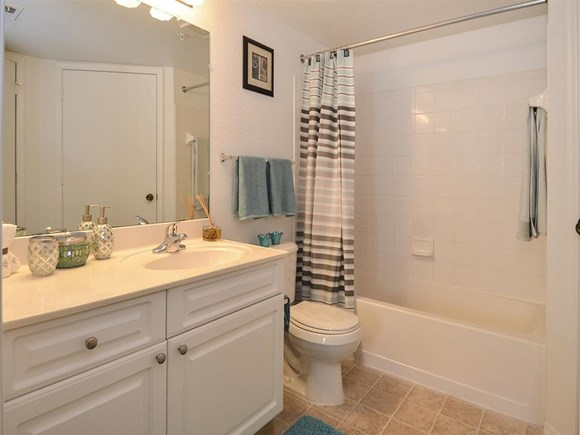 The Point at Naples Apartment Homes Naples, FL 34112 bathroom with counter space