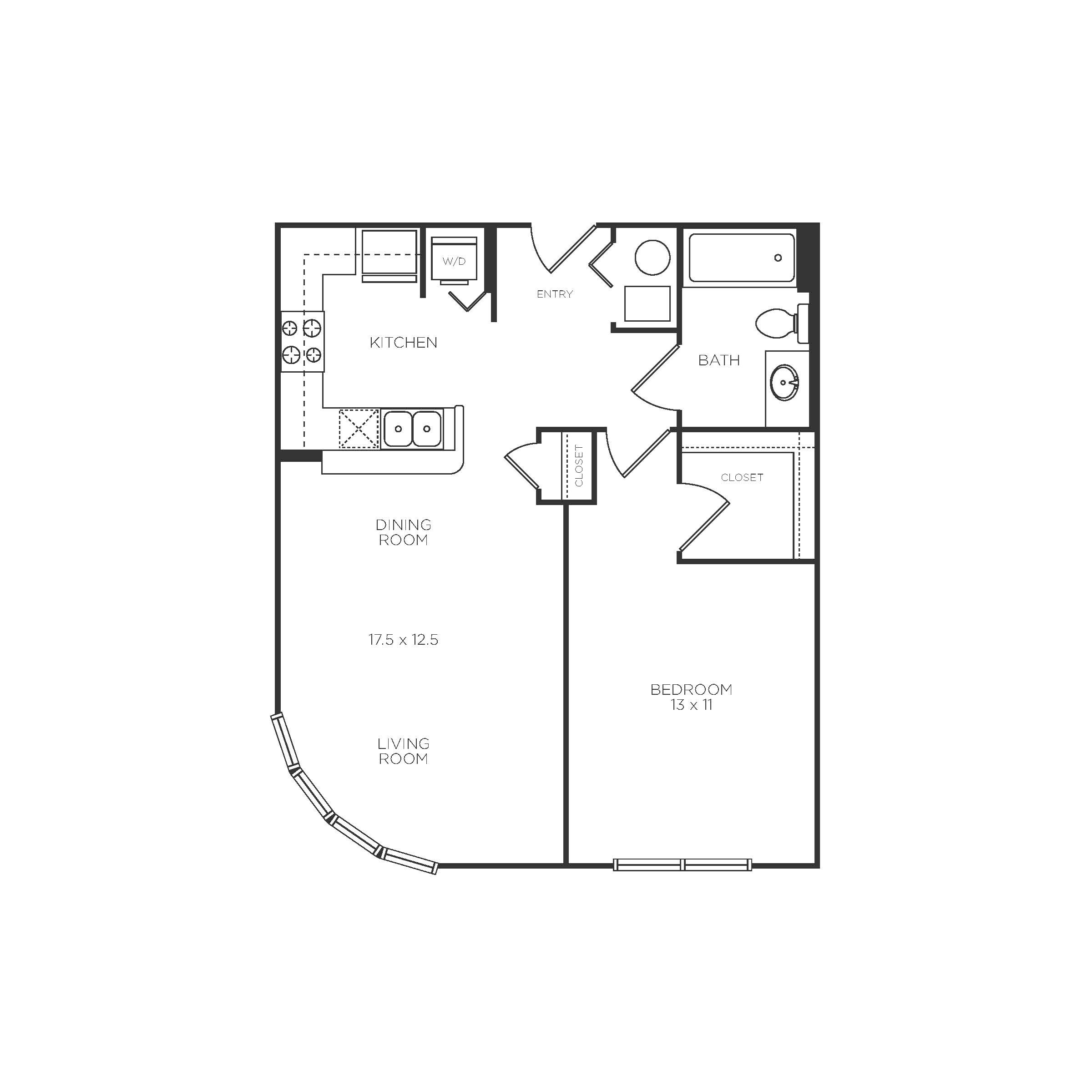 Floor Plans Of The Reserve In Evanston Il Schematic B4 Plan 20