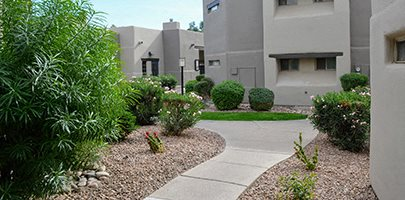 Beautiful Garden like Settings at Scottsdale Horizon Apartments, Scottsdale, AZ