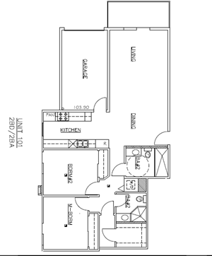 3 Bedroom, 3 Bath