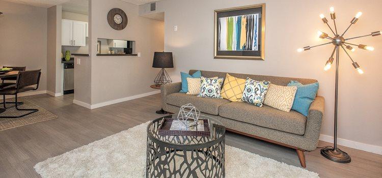 The Alexander_Santa Rosa CA_Lit Living Room