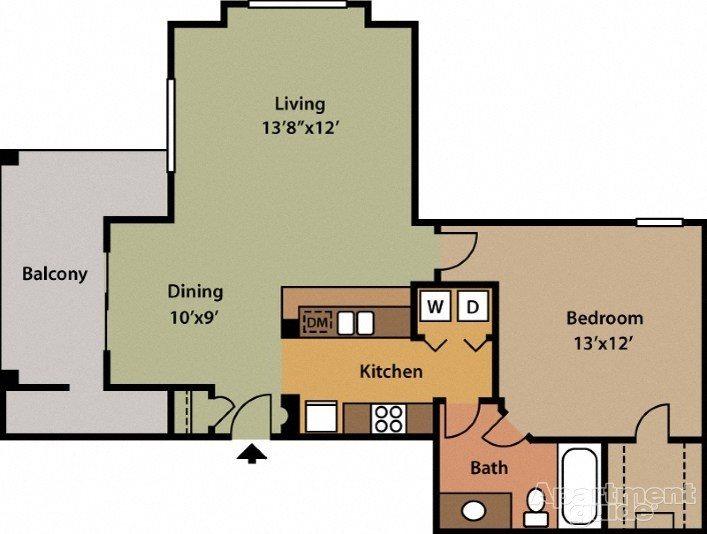 The Aspen Floor Plan 2