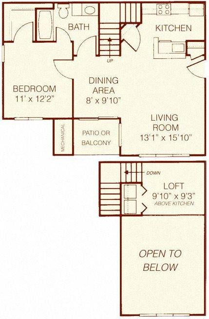 The Birch Deluxe Floor Plan 3