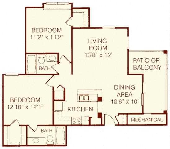 The Cypress Floor Plan 4