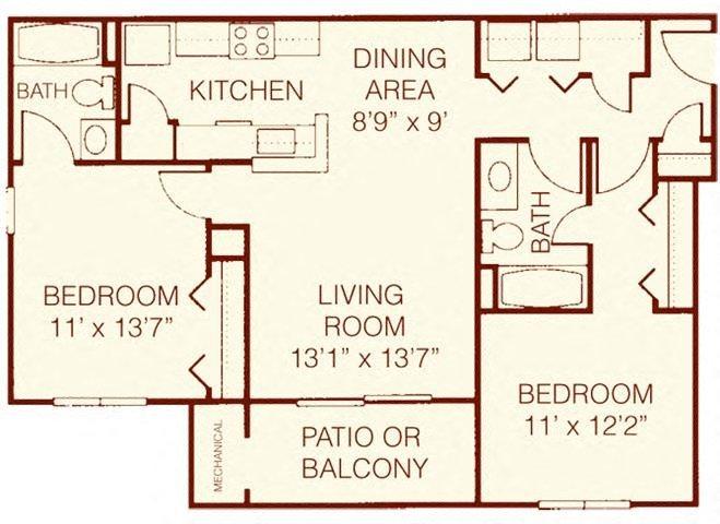 The Dogwood Floor Plan 5
