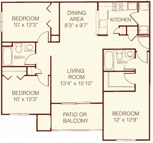 The Elm Floor Plan 7
