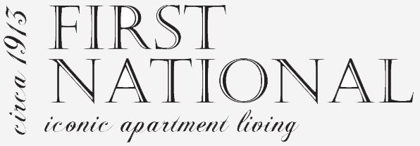 First National Apartments - Logo