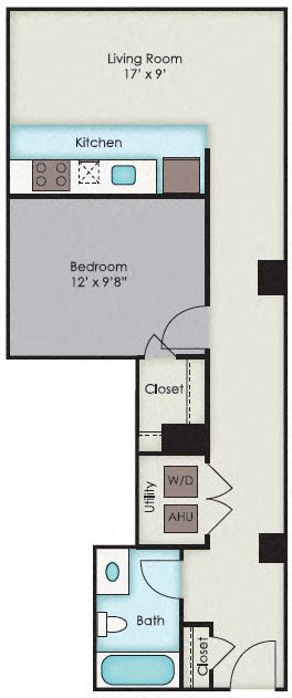First National Apartments -  Marymont Plan