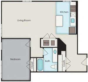 First National Apartments - Vanderlip Plan