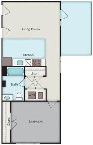 First National Apartments - Wiggin Plan
