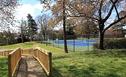 Tennis Courts at The Fields Parkside in Winston Salem NC