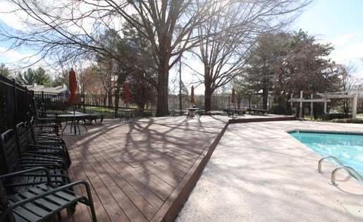 Sundeck at The Fields Parkside in Winston Salem NC