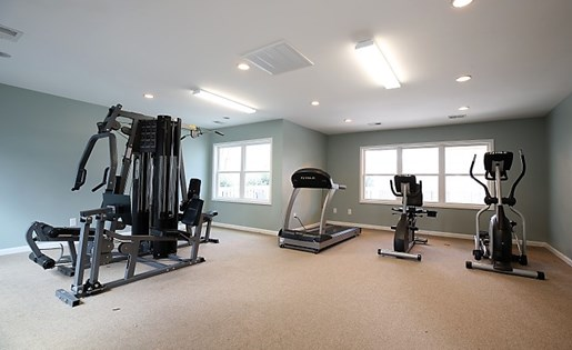 Fitness Center at The Fields Parkside in Winston Salem NC