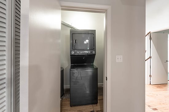 In-Unit Washer/Dryer at Green Street Lofts Apartments, Chicago, Illinois