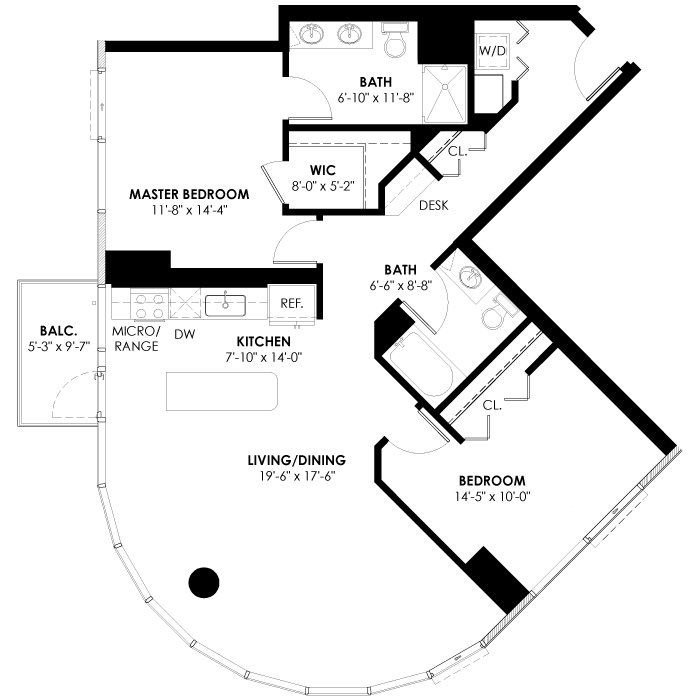 Plan 2A Floor Plan 8