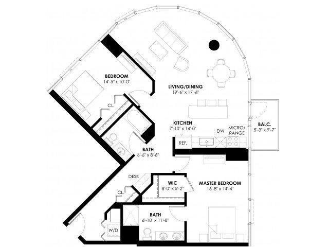Plan 2A+ Floor Plan 9