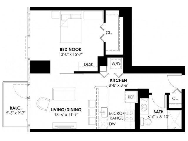 Convertible Plan A Floor Plan 2