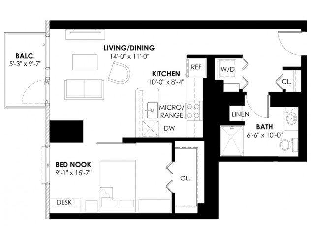Convertible Plan B Floor Plan 3