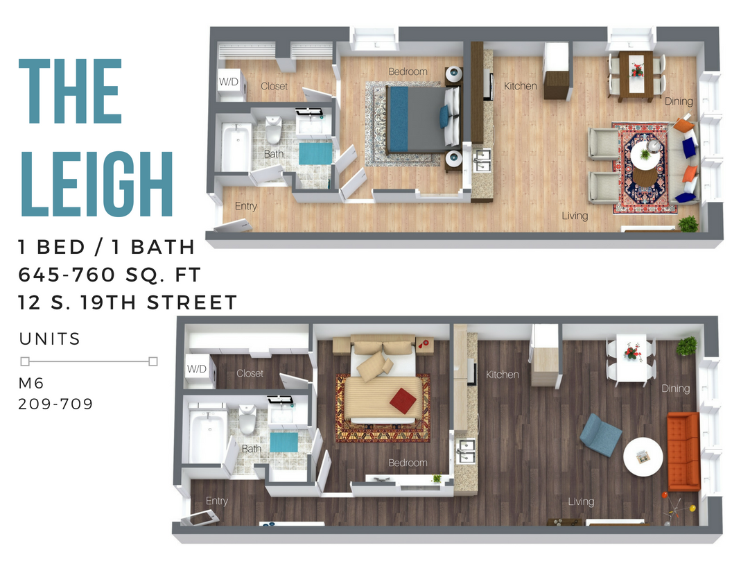 The Leigh (Overview-City Side) Floor Plan 2