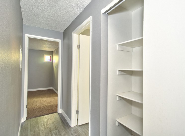 Salem, OR Nola Place Apartments closet
