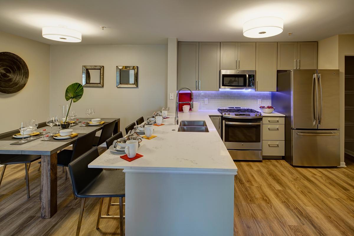 Quartz Kitchen Countertops at River Run at Naperville, 1015 Preserve Ave, Naperville, IL 60564