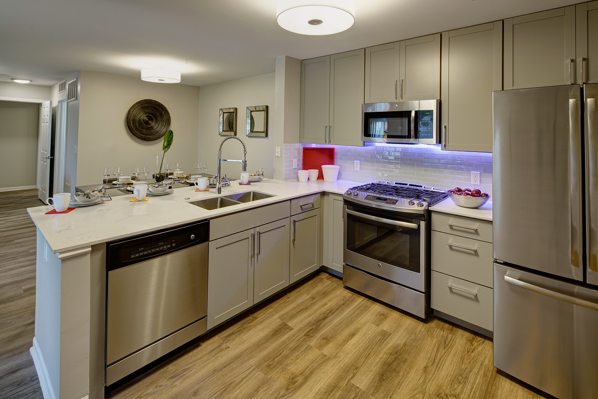 Stainless Steel Appliances at River Run at Naperville, Naperville, Illinois