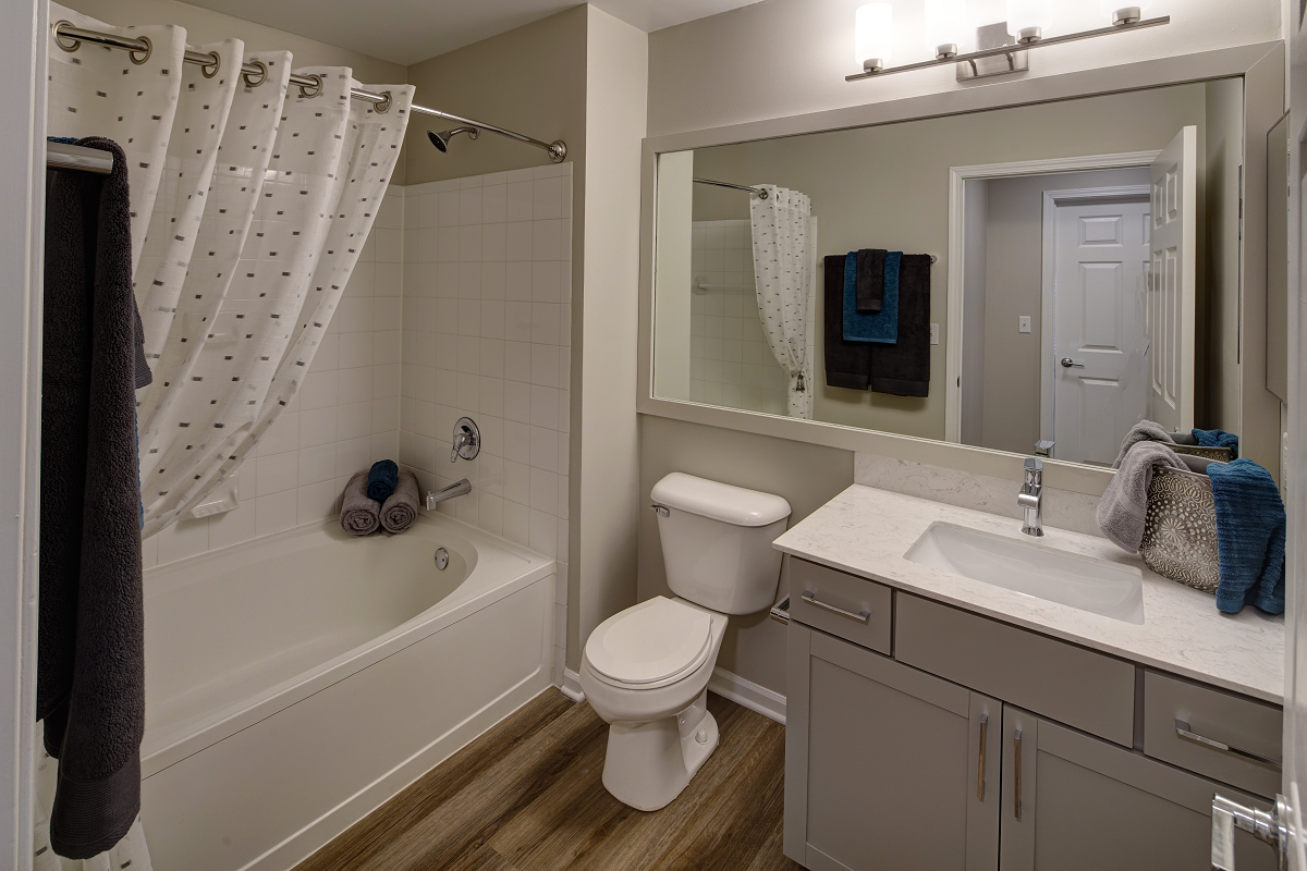 Spacious Bathrooms With Garden Tub at River Run at Naperville, 1015 Preserve Ave, Naperville, Illinois, 60564