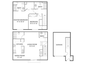 River Birch Floorplan at River Run at Naperville, 60564
