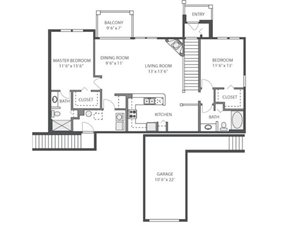 Azalea Floorplan at River Run at Naperville, 60564