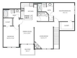 Juniper Floorplan at River Run at Naperville, 60564