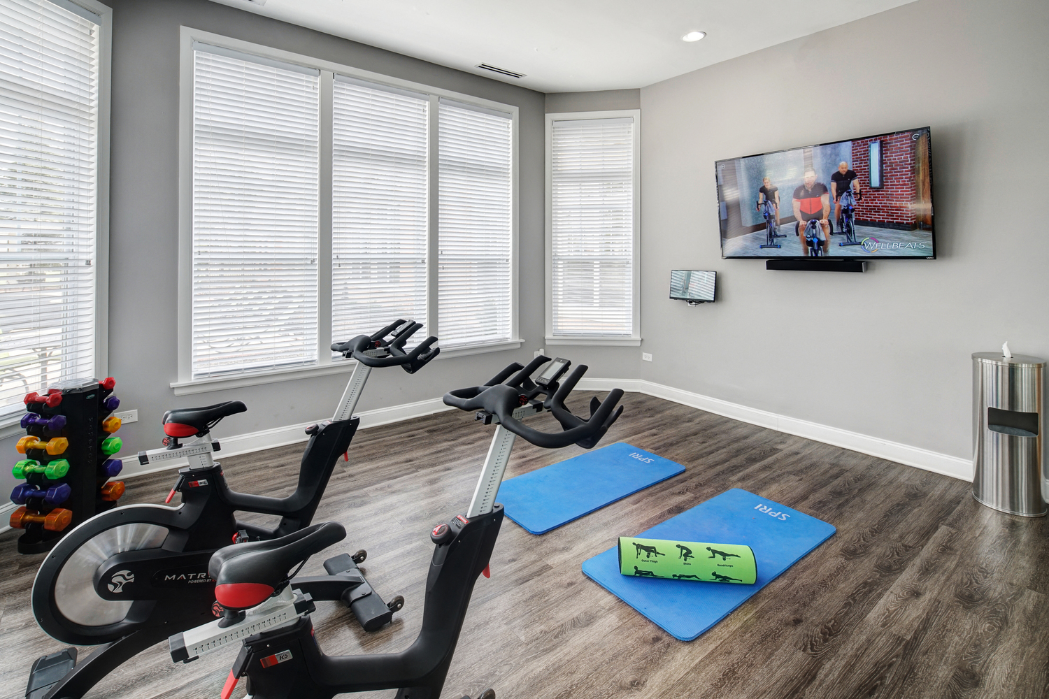 Fitness Center at River Run at Naperville Apartments
