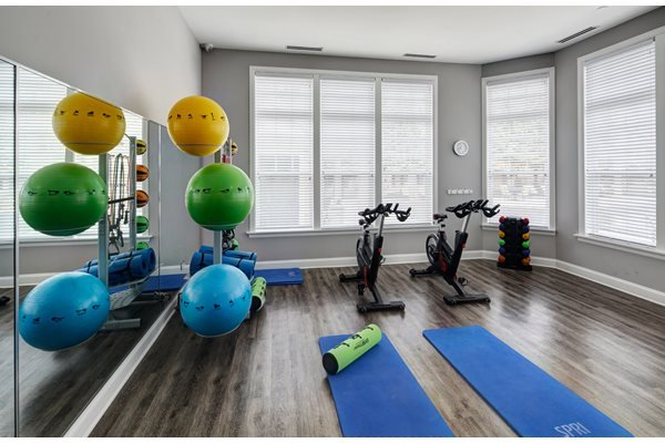 24-Hour Fitness on Demand Studio at River Run at Naperville Apartments, Naperville, Illinois