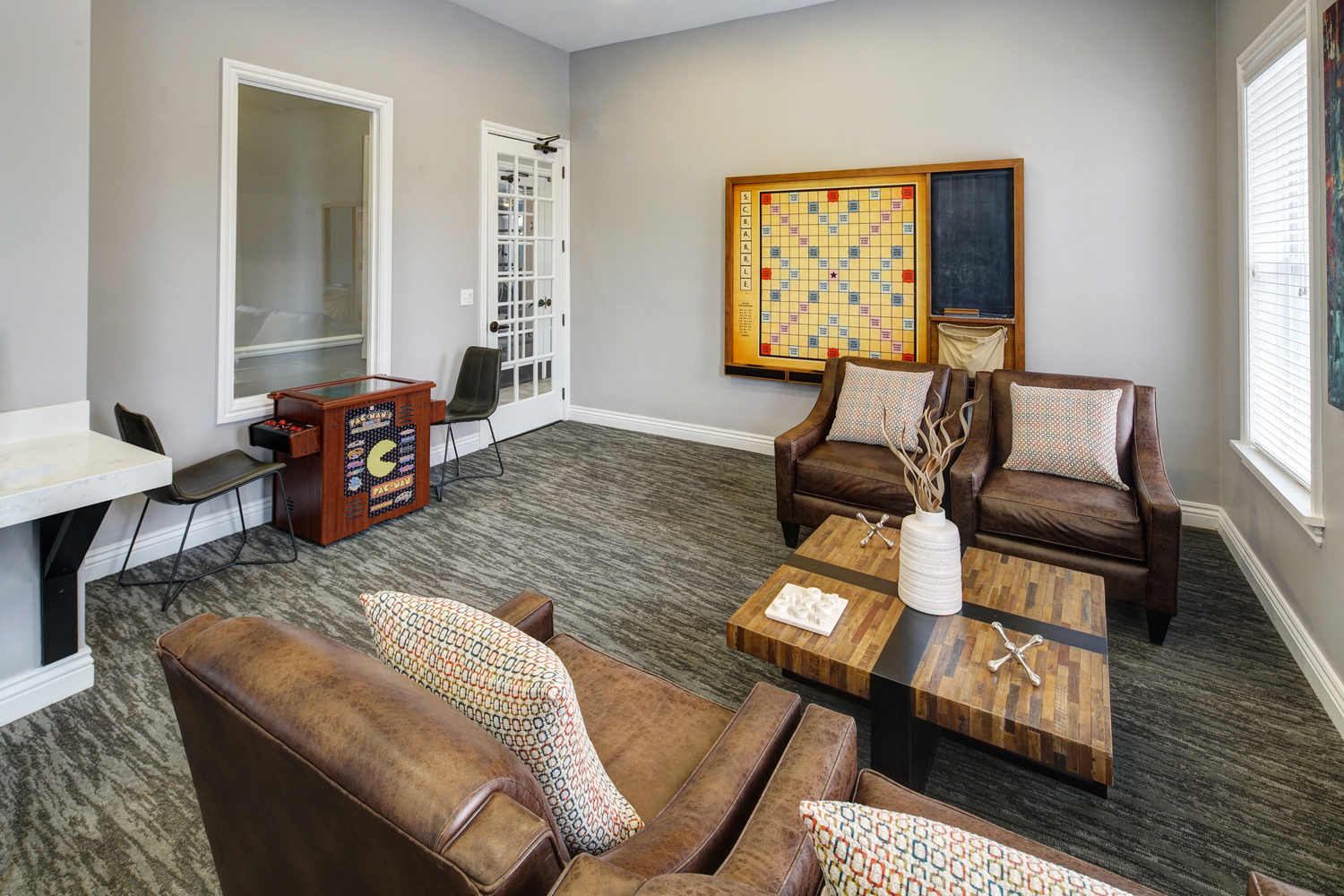 Stylish WiFi Lounge at River Run at Naperville Apartments, Naperville, IL
