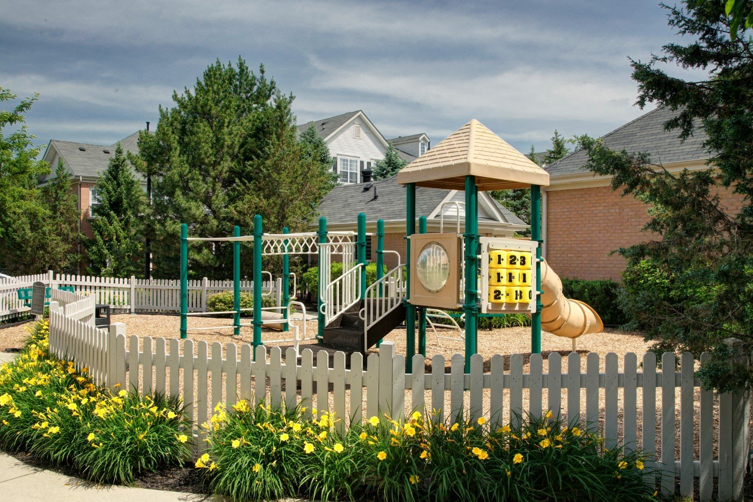 Apartment Rentals with Playground Area- River Run at Naperville Apartments