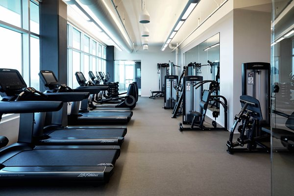 Our Rooftop Fitness Center is accessible 24/7