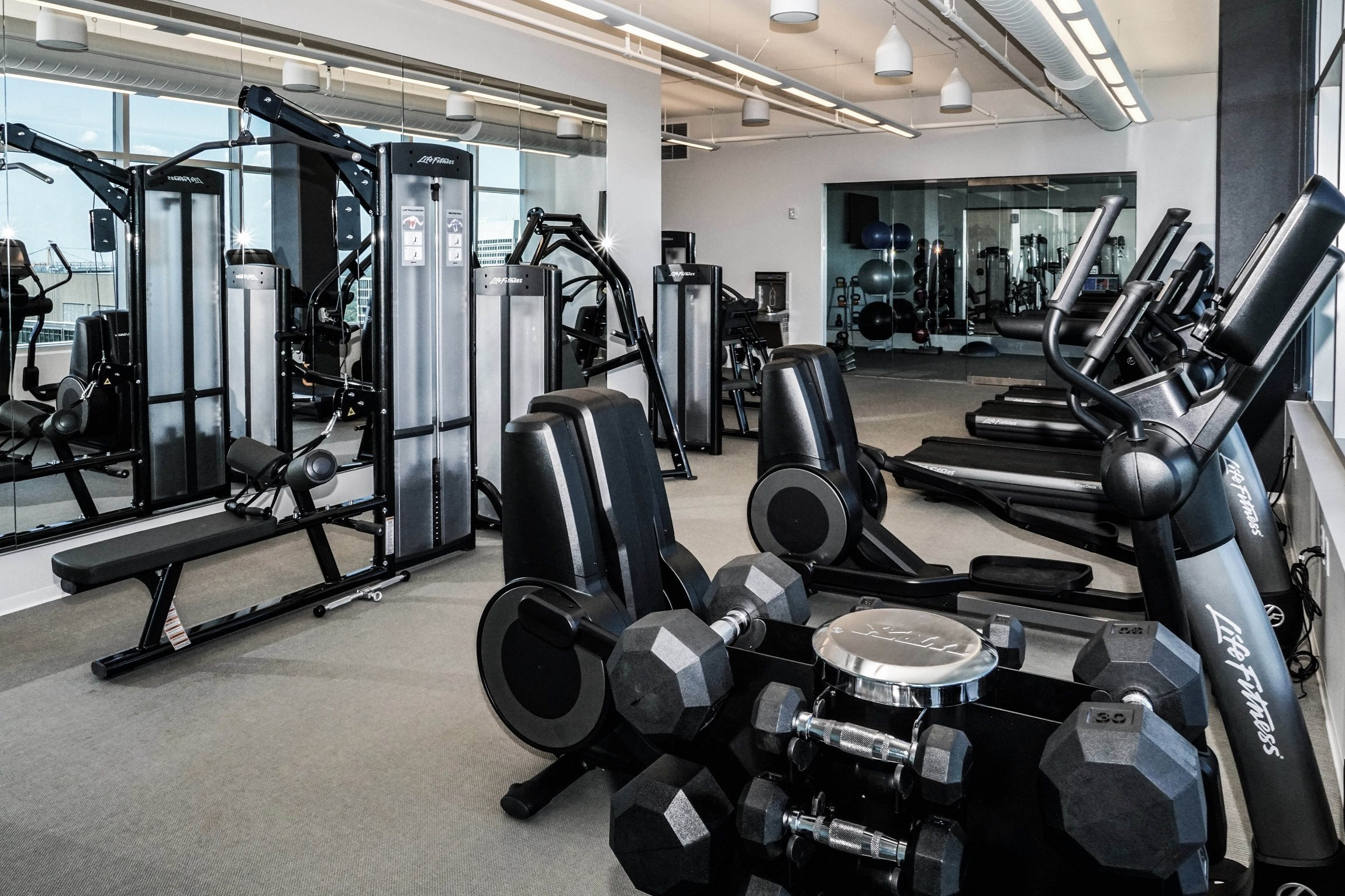 State-of-the-Art Fitness Center, Available 24/7