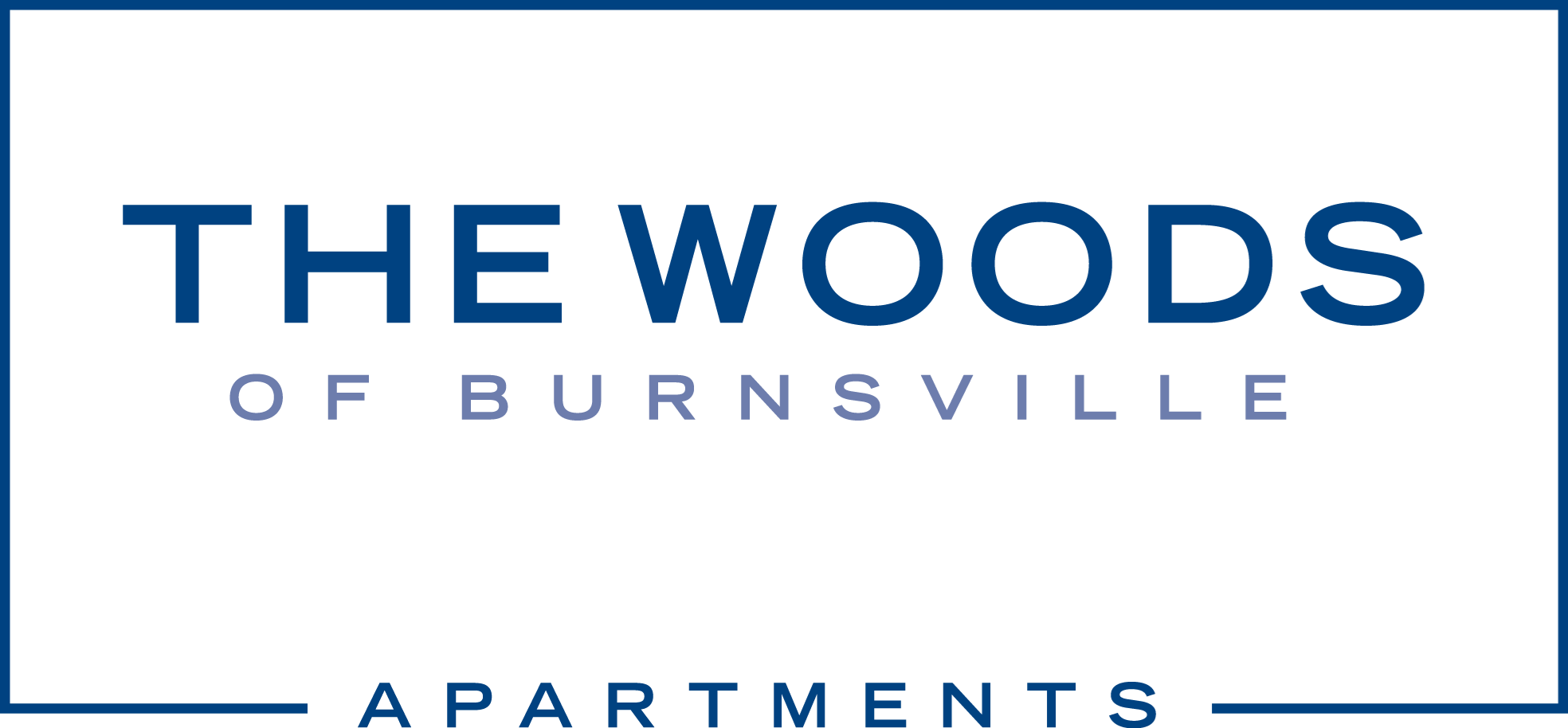 The Woods of Burnsville Apartment Homes Logo